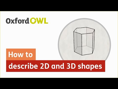 Properties of 2D and 3D shapes for parents | Faces, edges