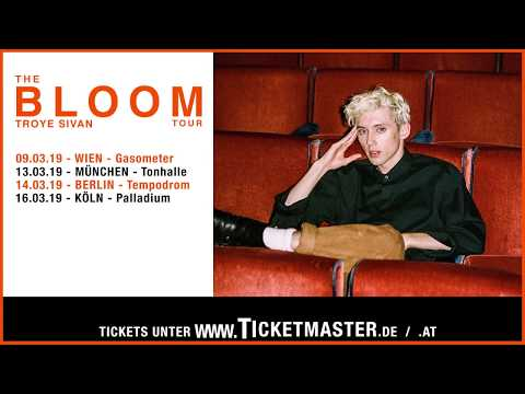 Troye Sivan  - The Bloom Tour | Live Nation GSA
