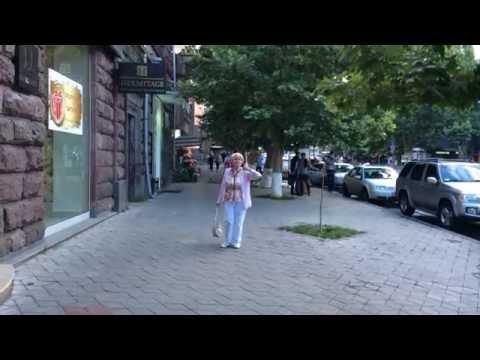 Yerevan, 12.06.16, Su, на русском, Video-3, Парк Победы - Просп.Маштоца