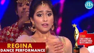 SIIMA Awards - Regina Cassandra Amazing Dance Performance - Chiranjeevi    Ram Charan