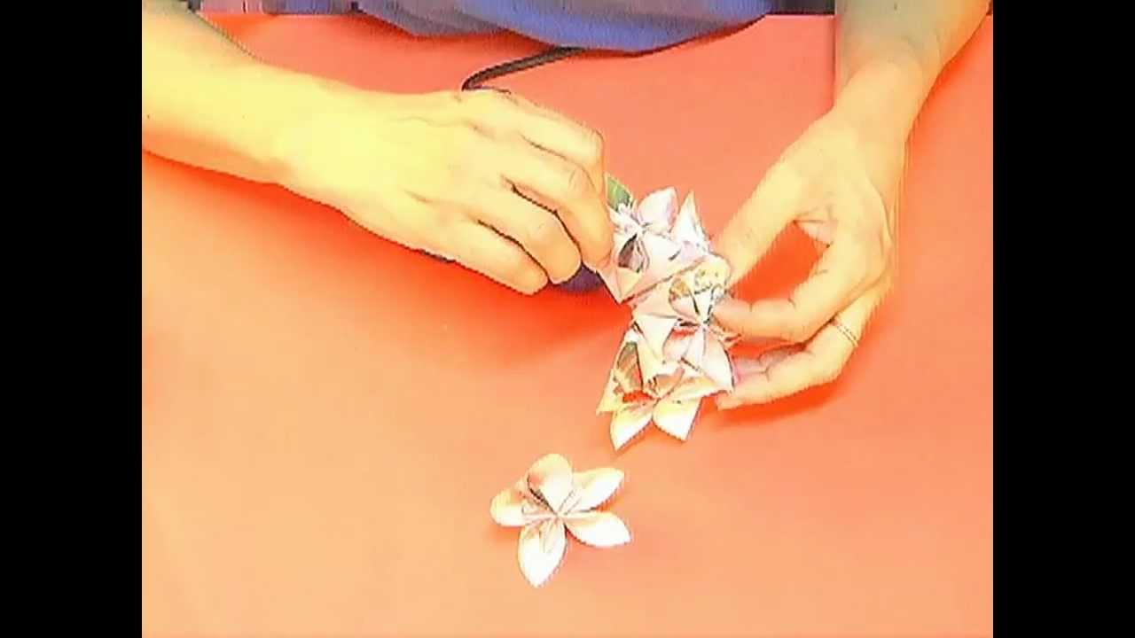 Como hacer guirnaldas navide as de papel 2da parte youtube - Como hacer decoraciones navidenas ...