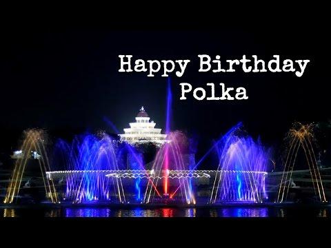 Superfun musical fountain - Happy Birthday Polka || Art of Living Instrumental