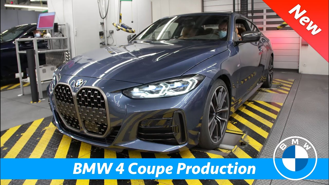 BMW 4 Series Coupé 2021 PRODUCTION - First FULL look on ...