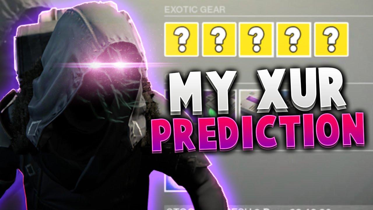 Destiny xur predictions xur predictions for 4th december