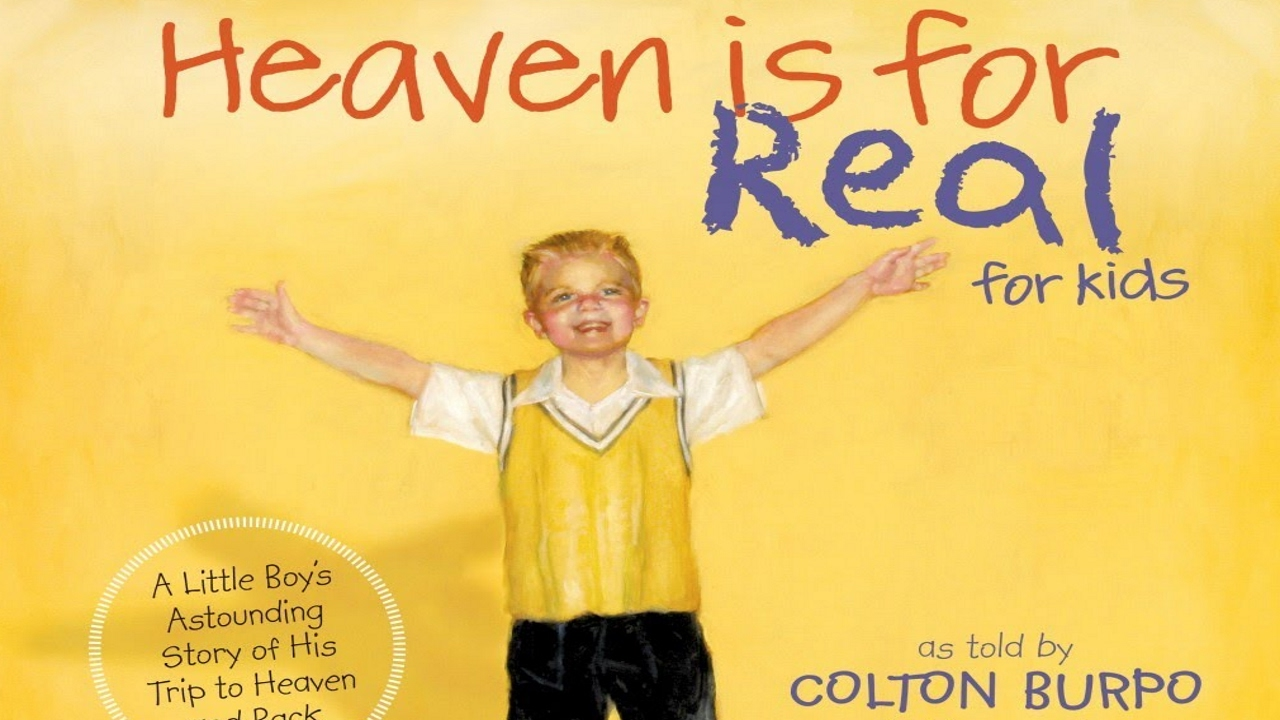 heaven is real We pit the heaven is for real true story vs the movie meet the real colton burpo,  todd burpo, sonja and cassie watch colton burpo interviews.