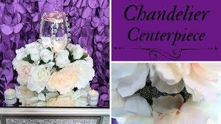 Chandelier Centerpiece | Floating Candle | Low Centerpiece Tutorial