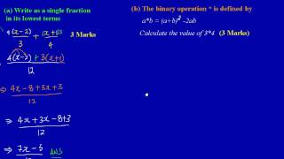 csec cxc maths past paper question 2 a b may 2011 exam solutions answers by will edutech