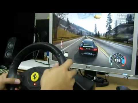 จอยพวงมาลัย Ferrari GT 2-in-1 PC PS2 สหเกมส์ sahagame
