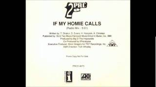 2pac - If My Homie Calls (Radio Mix)
