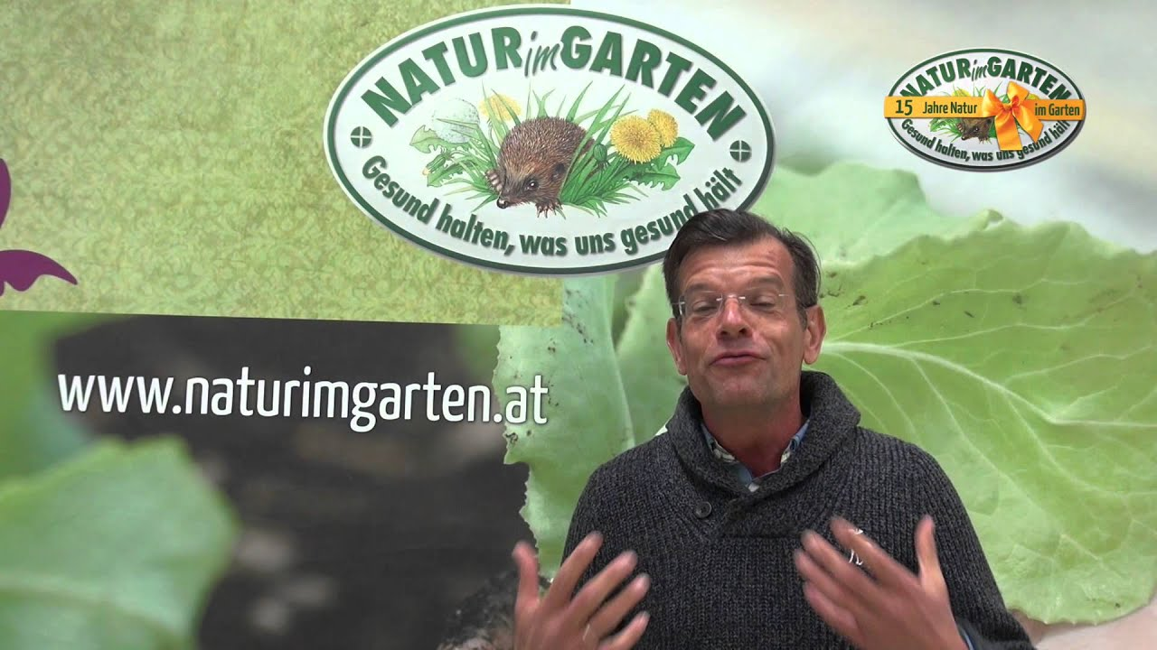 biog rtner karl ploberger ber 15 jahre natur im garten youtube. Black Bedroom Furniture Sets. Home Design Ideas