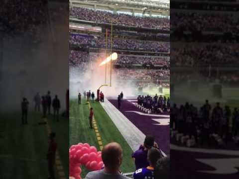 Vikings pregame vs. Texans - YouTube 22b977440