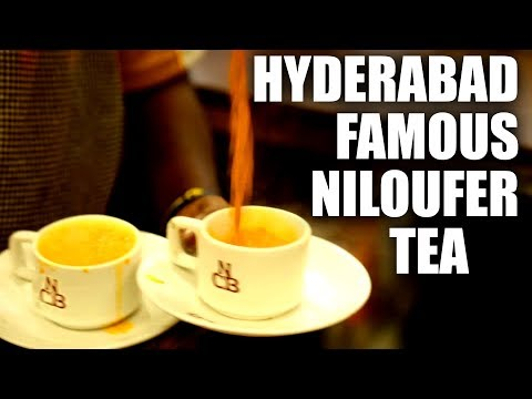 Irani Chai - Must Try in Hyderabad | TEA TIME | Super Busy Tea Stall | Niloufer Cafe
