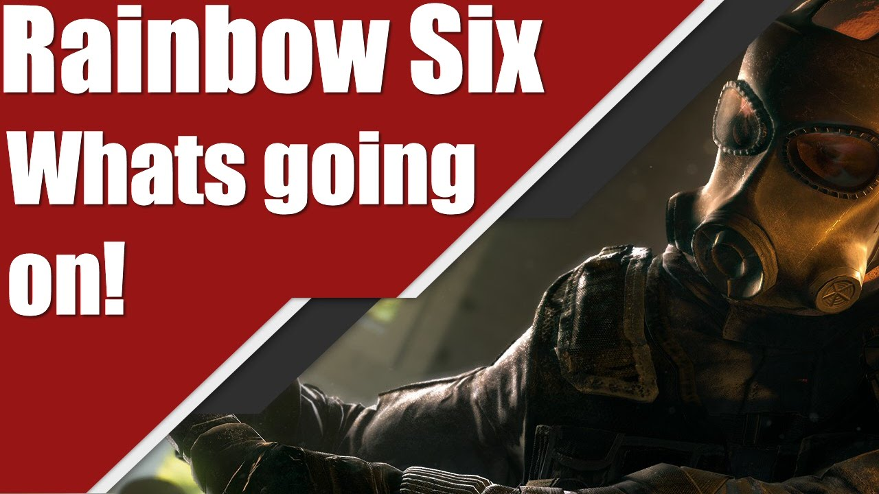 rainbow six siege i 39 m back and what 39 s going on youtube. Black Bedroom Furniture Sets. Home Design Ideas