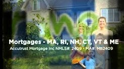 Mortgage MA RI NH CT VT & ME