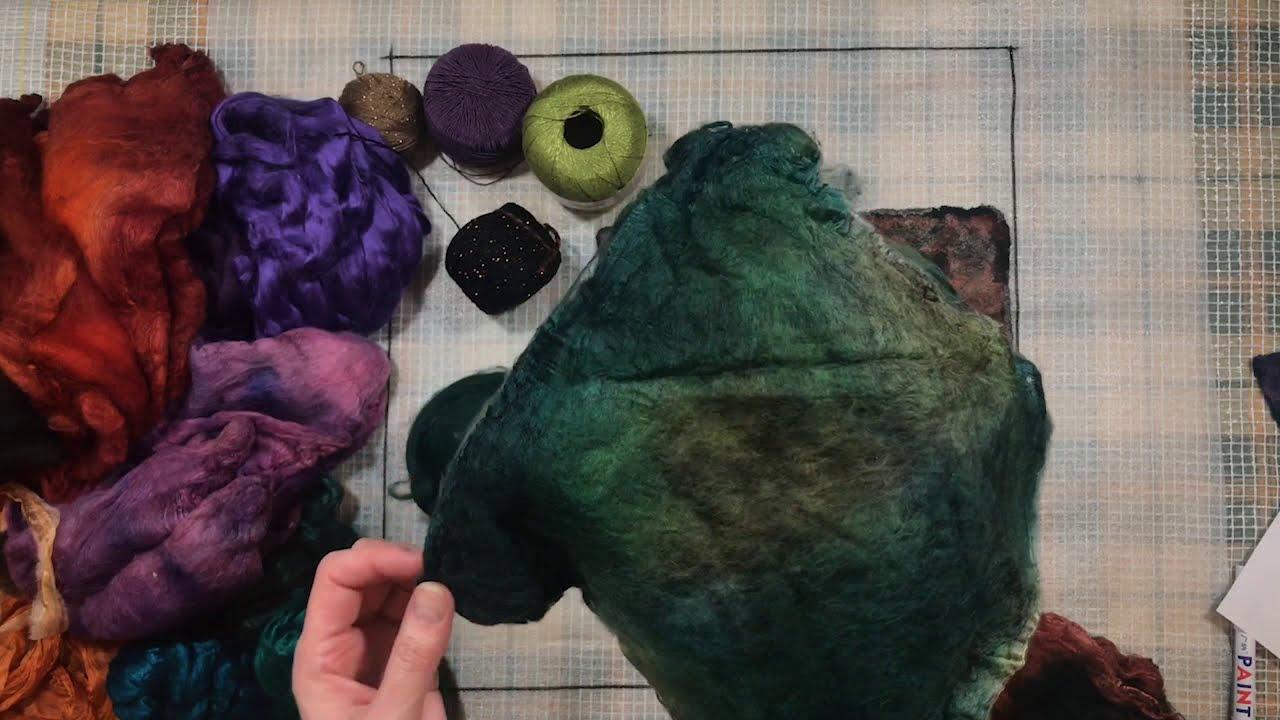 Образец для сарафана. Декор из шелковых платочков и шапок. Н. Кондрашева