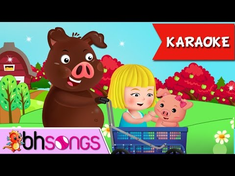 To Market To Market To Buy A Fat Pig Karaoke | Nursery Rhymes TV