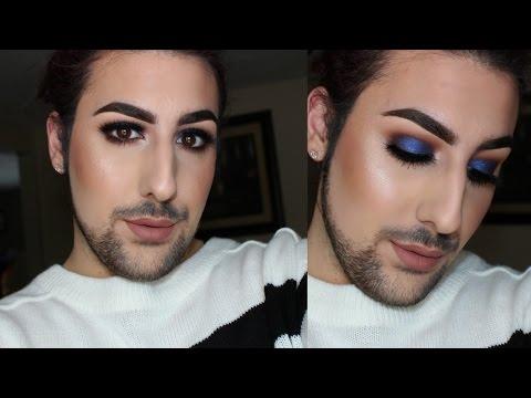 Cobalt Blue Smokey Eye Makeup Tutorial | Kylie Jenner Lip Kits