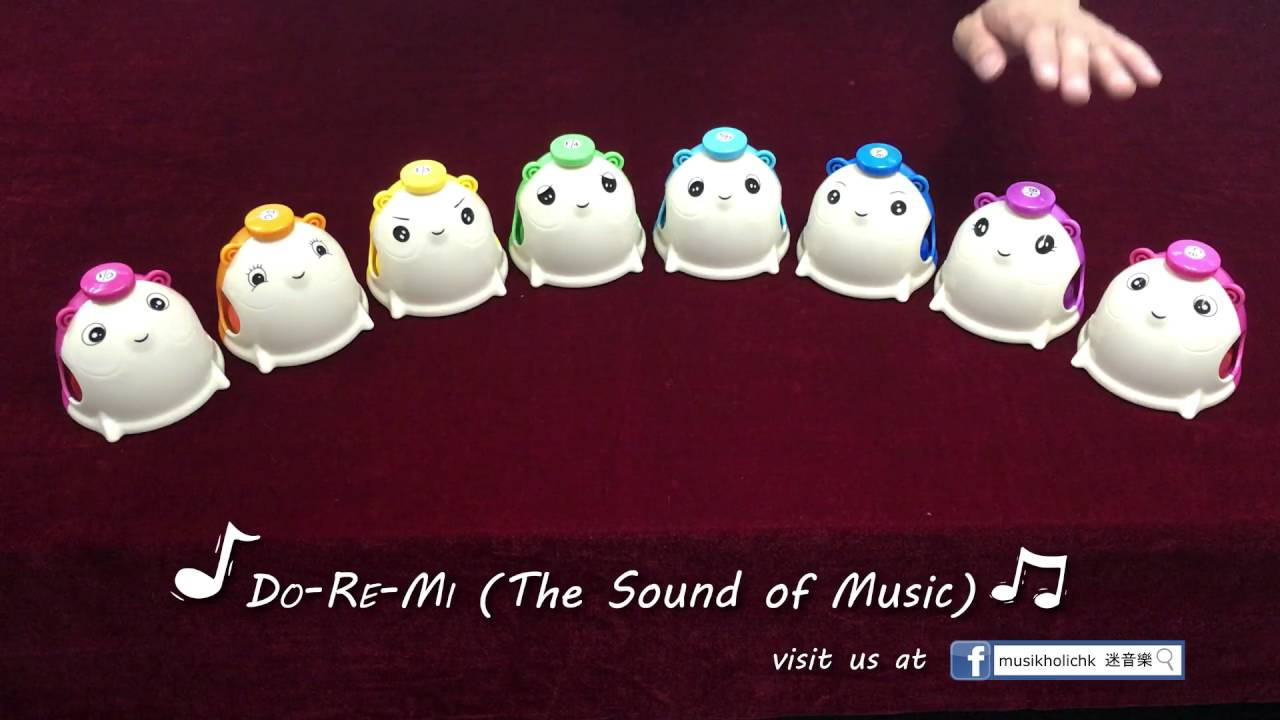 [Musikholichk] Do Re Mi From The Sound Of Music Desk Bell Ver Nice Look