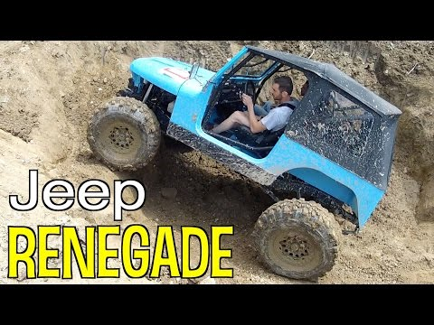 JEEP RENEGADE CJ7 Off Road Extreme 4x4 Trial V8 Renegade - Acceleration Sound Exhaust