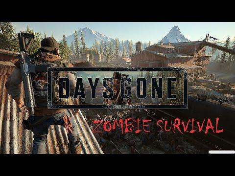 Days Gone 2017 выжить среди зомби самая ожидаемая игра