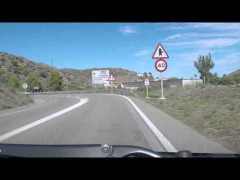 N260/D914 Spain to France via Med Coast Road - video 1
