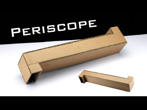 How To Make Periscope Using Cardboard at Home Making Tricks thumbnail