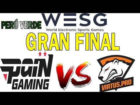 GRAN FINAL WESG 2018|  BO3  | PAIN GAMING(BRASIL) VS TEAM RUSSIA (VIRTUS PRO)