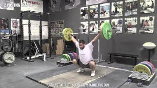2-Position Snatch - Olympic Weightlifting Exercise Library - Catalyst Athletics