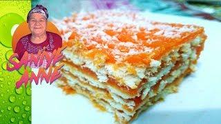Portakallı Bisküvi Pastası