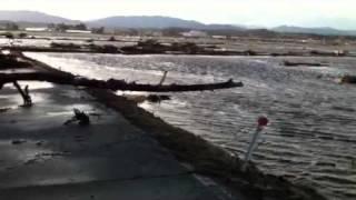 地震、津波、福島県双葉郡双葉町郡山付近より thumbnail