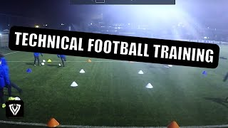 training u9 u10 u11 u12 u13 u14 techniektraining voetbal football soccer coaching drill exercise