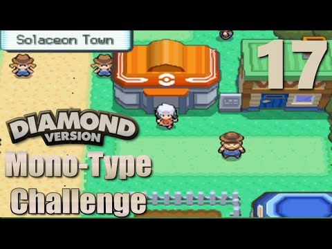 Pokemon Diamond Mono Run - 17 - Error!