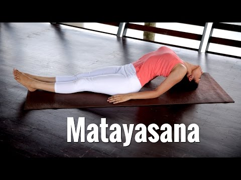 Matsyasana, The Fish Pose In Yogasana