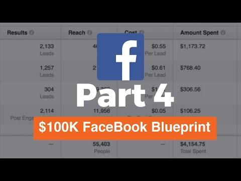 (Part 4) 100K FaceBook Ads Blueprint | The $100K Strategy