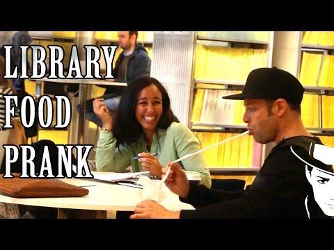 Library food Prank - Julien Magic