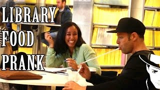 Library food Prank  Julien Magic