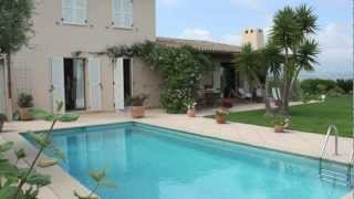 A vendre villa Les Hauts de Vaugrenier - piscine - vue mer - 4 chambres