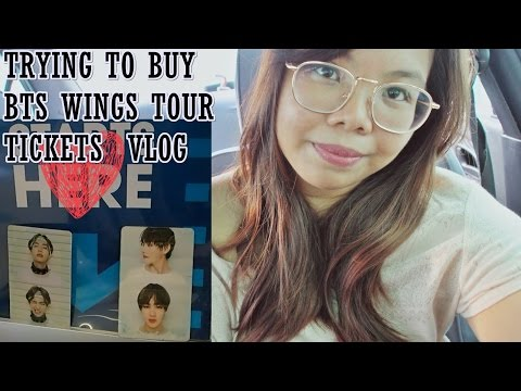 BTS Wings Tour Manila Ticket Sales Experience VLOG