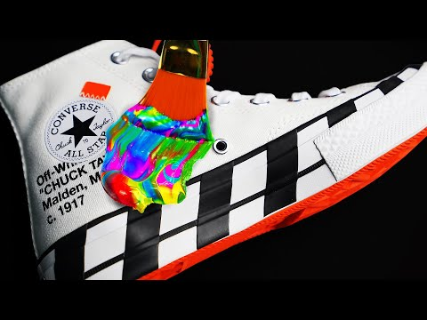 Customizing 10 Sneakers And Giving Them Away To Random People 👟🎨 (Giveaway) Ft. ZHC