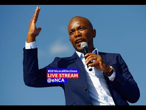 DA's last 2016 local elections rally