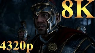 Ryse Son of Rome 8K 4320p Gameplay Titan X Pascal 3 Way SLI PC Gaming 4K | 5K | 8K and Beyond