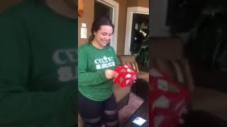 Katie's 1st car Christmas Surprise!