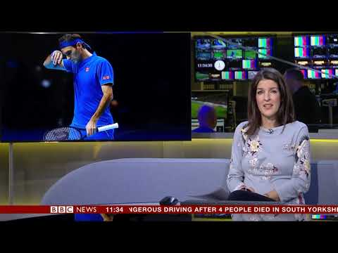 Katherine Downes BBC News Channel HD Newsroom Live Sport Novmer 12th 2018