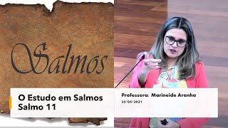 ESTUDOS EM SALMOS - SALMO 11 EBD - 25.04.2021