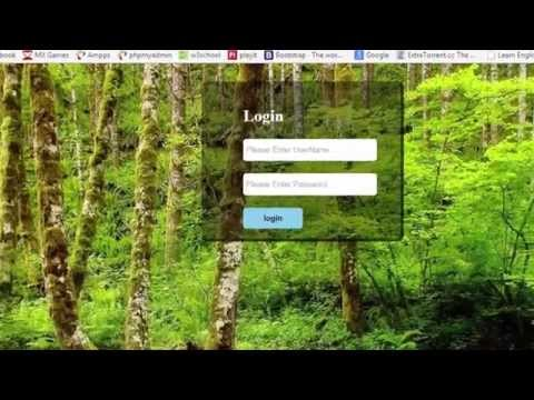 Login Form Design With Glass Effect Using HTML And CSS In Urdu/Hindi