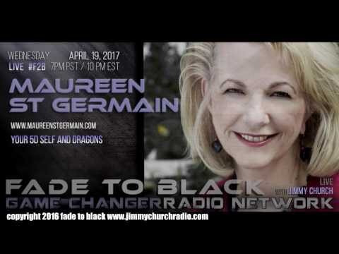 Ep. 645 FADE to BLACK Jimmy Church w/ Maureen St. Germain : Dragons : LIVE