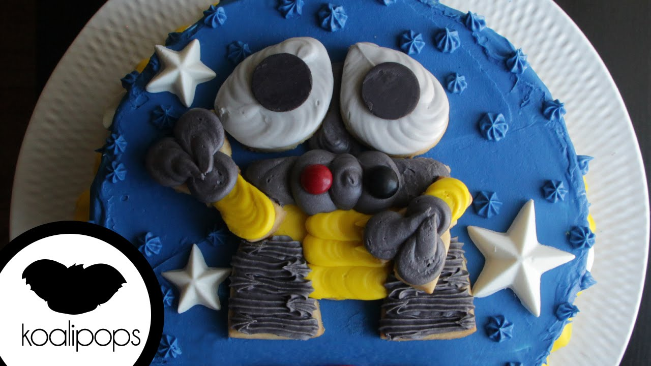 Disney Pixars Wall E Cake