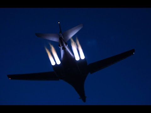 Rockwell B1 Bomber | The Largest Roller Coaster Strategic Bomber | Military