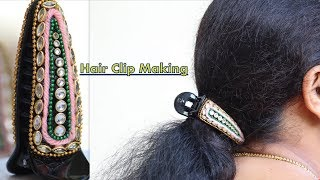 How to Use/Tuck Hair Clutchers Properly|Clutcher Hairstyles