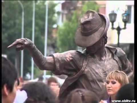 Первый в России памятник Майклу Джексону